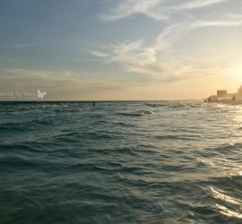 Sunset Over the Water Sandestin FL {living outside the stacks}