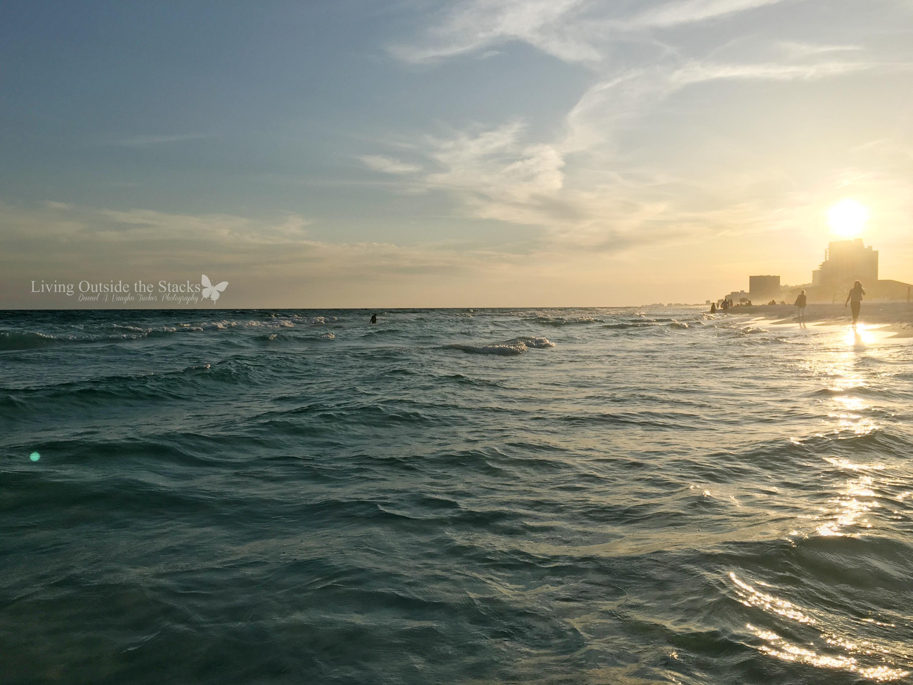 Sunset Over the Water Sandestin FL {living outside the stacks}