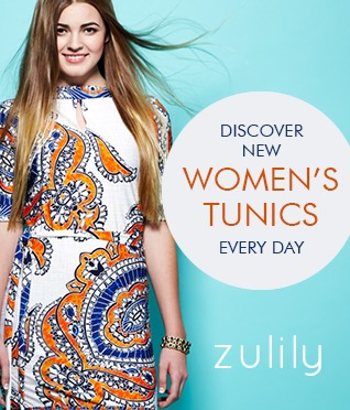 Zulily Tunics {living outside the stacks}