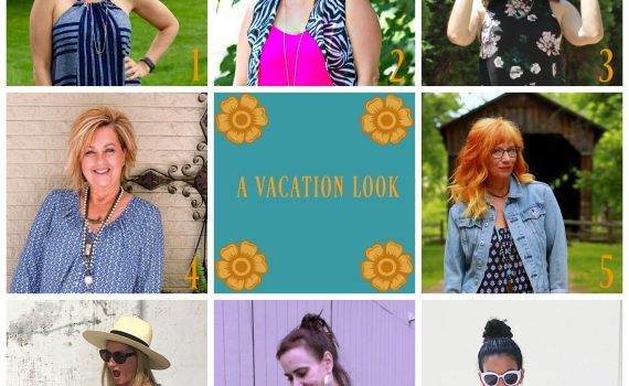 Ageless Style Linkup Collage {A Vacation Look}