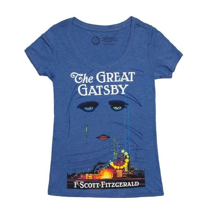 The Great Gatsby Tee Shirt {living outside the stacks} affiliate link