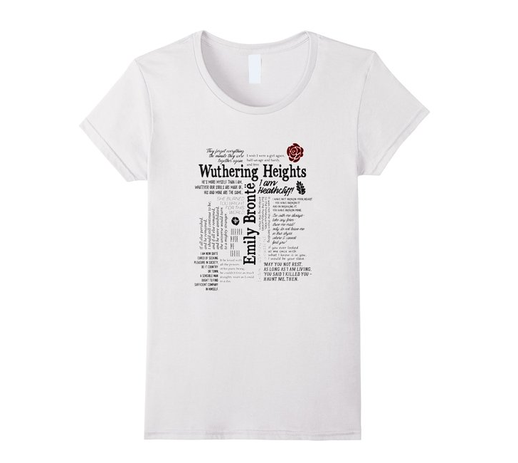 Wuthering Heights Tee Shirt {living outside the stacks} affiliate link