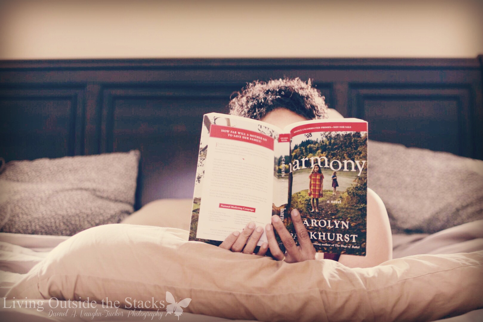 Book Review Harmony by Carolyn Parkhurst 2 {living outside the stacks}