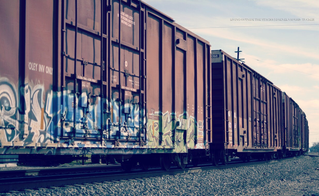 Train Cordele Georgia {living outside the stacks}