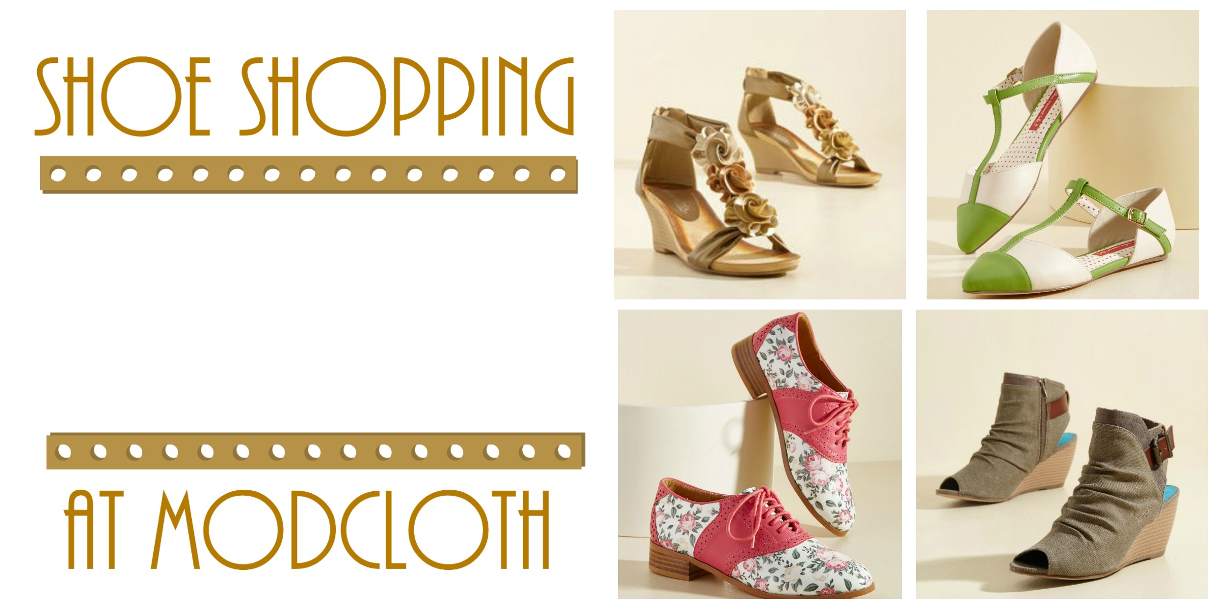 Shoe Shopping at Modcloth