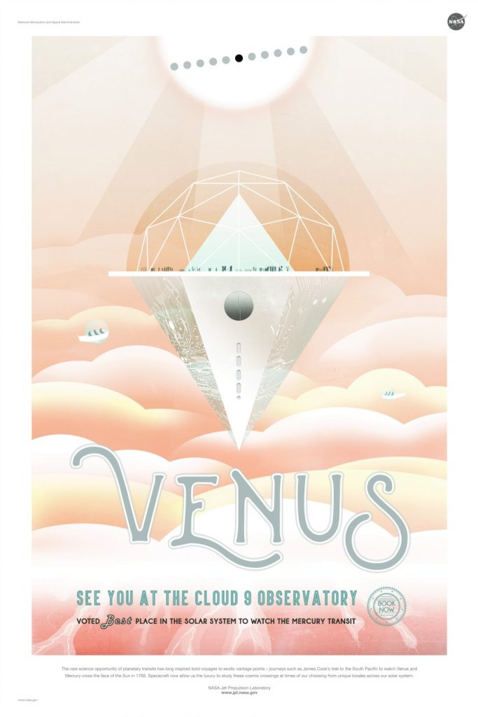 Venus {NASA Space Tourism Poster}