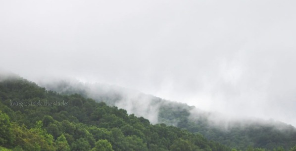 Blue Ridge Mountains {living outside the stacks}