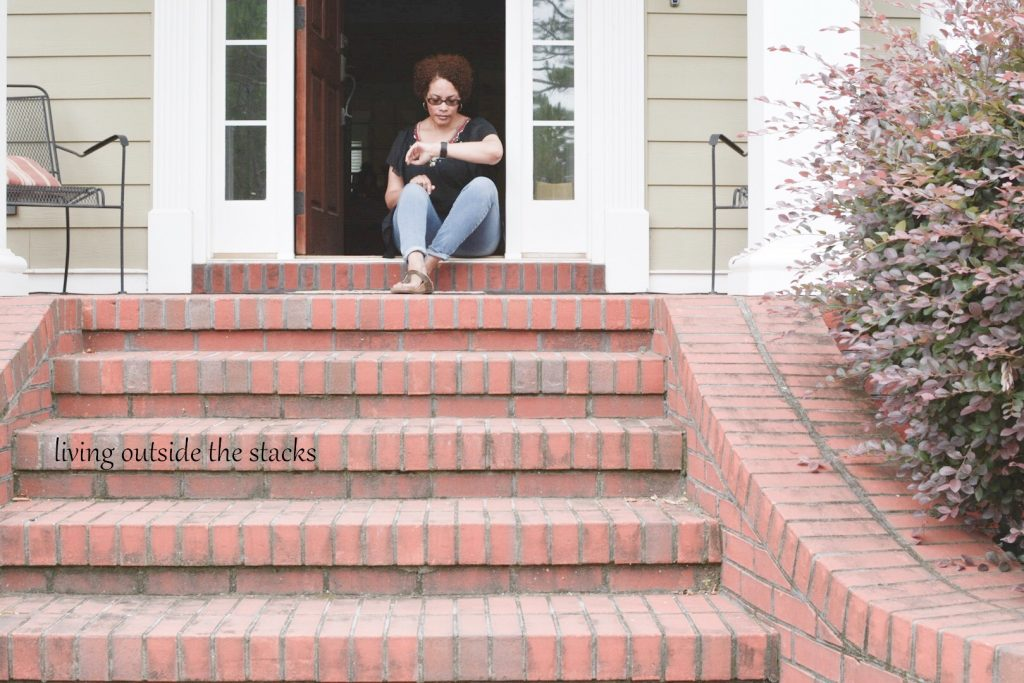Waiting for USPS {living outside the stacks}