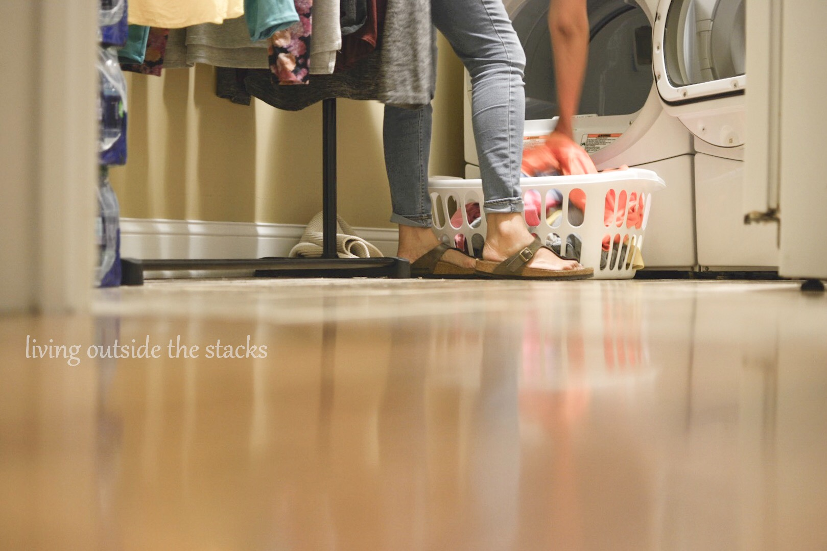 Laundry Duty {living outside the stacks}
