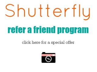 Shutterfly Refer a Friend Program {living outside the stacks}