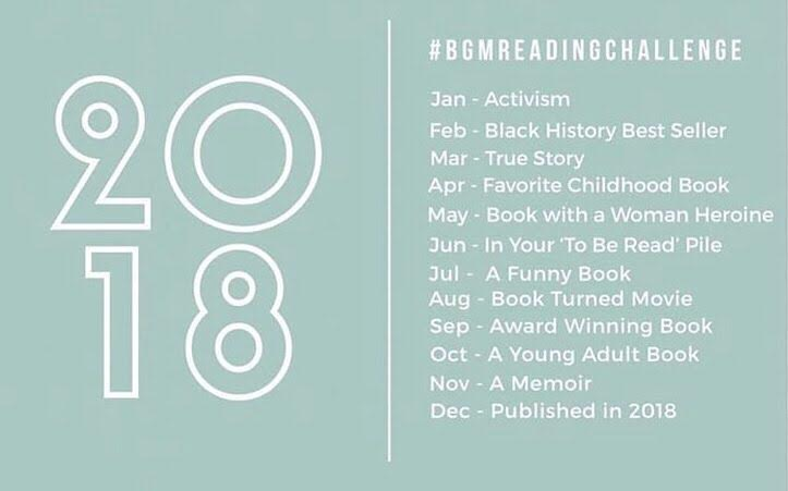 2018 Black Girl Magic Reading Challenge