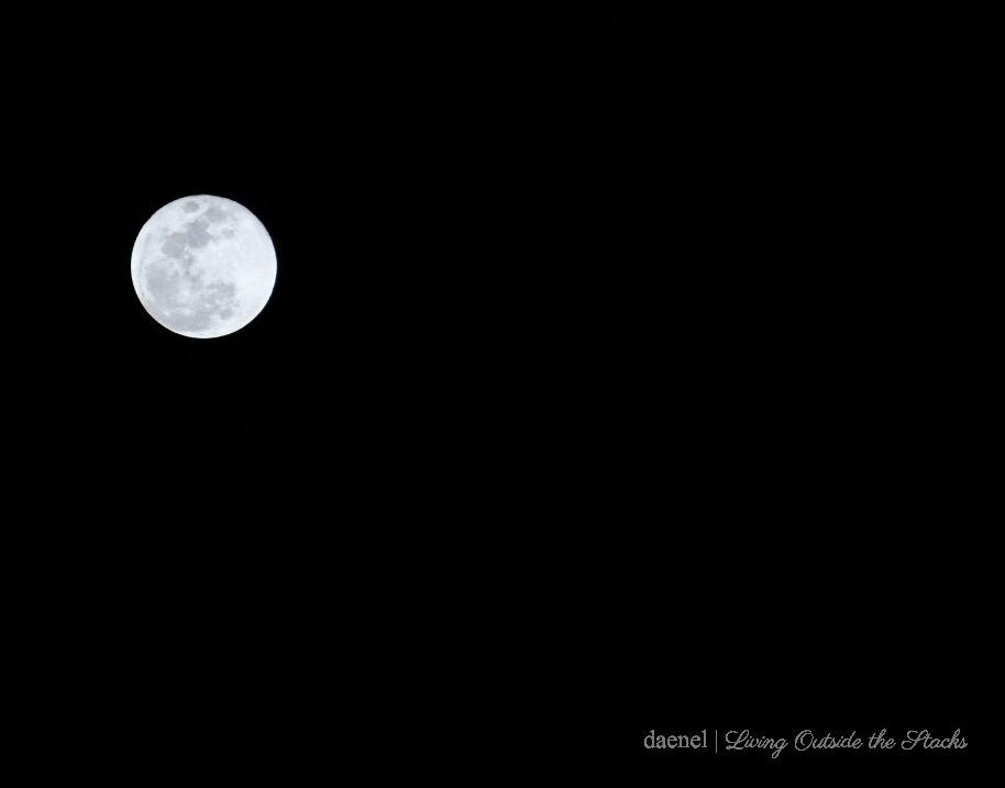 Shoot the Moon {living outside the stacks} Photography Tutorial #LivingOutsideTheStacks #TeamLOTSPhotography #TeamLOTSTutorial