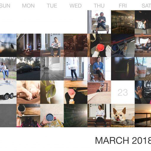 March 2018 {living outside the stacks} follow on Instagram @DaenelT