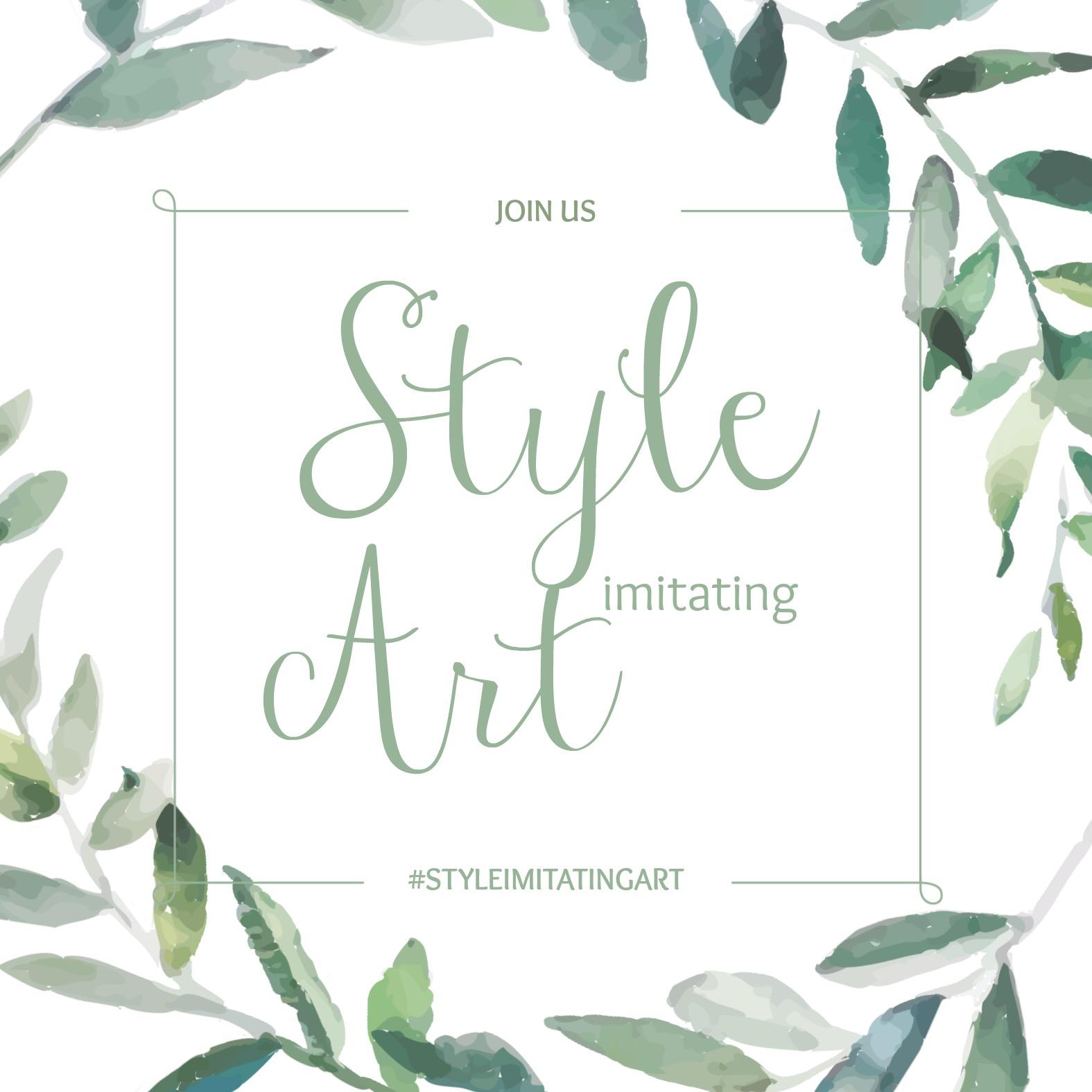 Style Imitating Art Invitation {living outside the stacks}