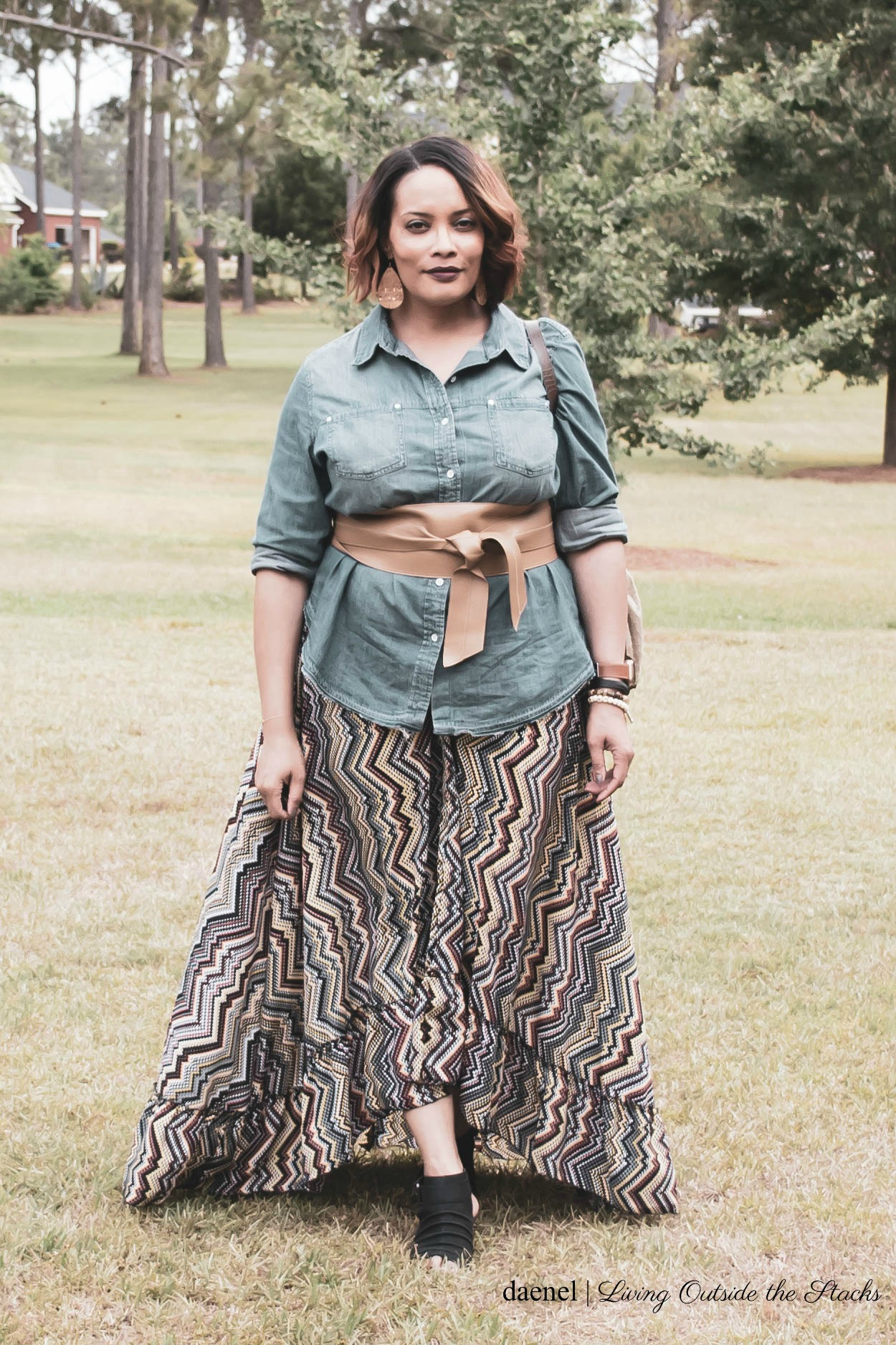 Ageless Style Linkup Styling a Maxi Dress {living outside the stacks}