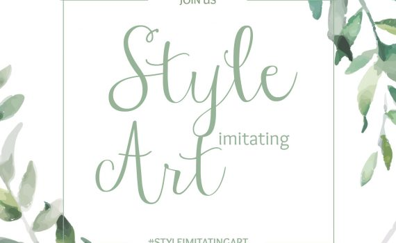 Style Imitating Art Invitation {living outside the stacks}