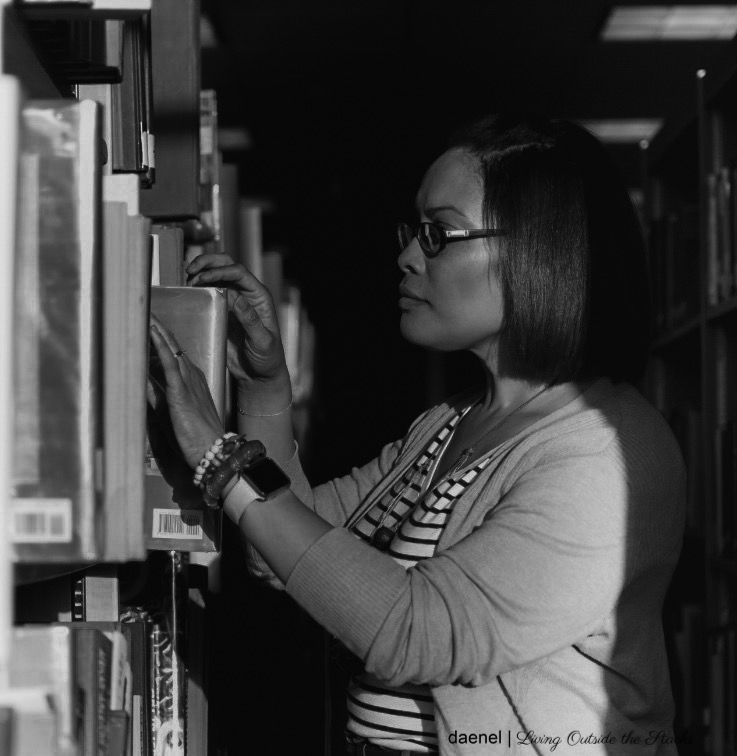 Daenel in the Stacks {living outside the stacks}