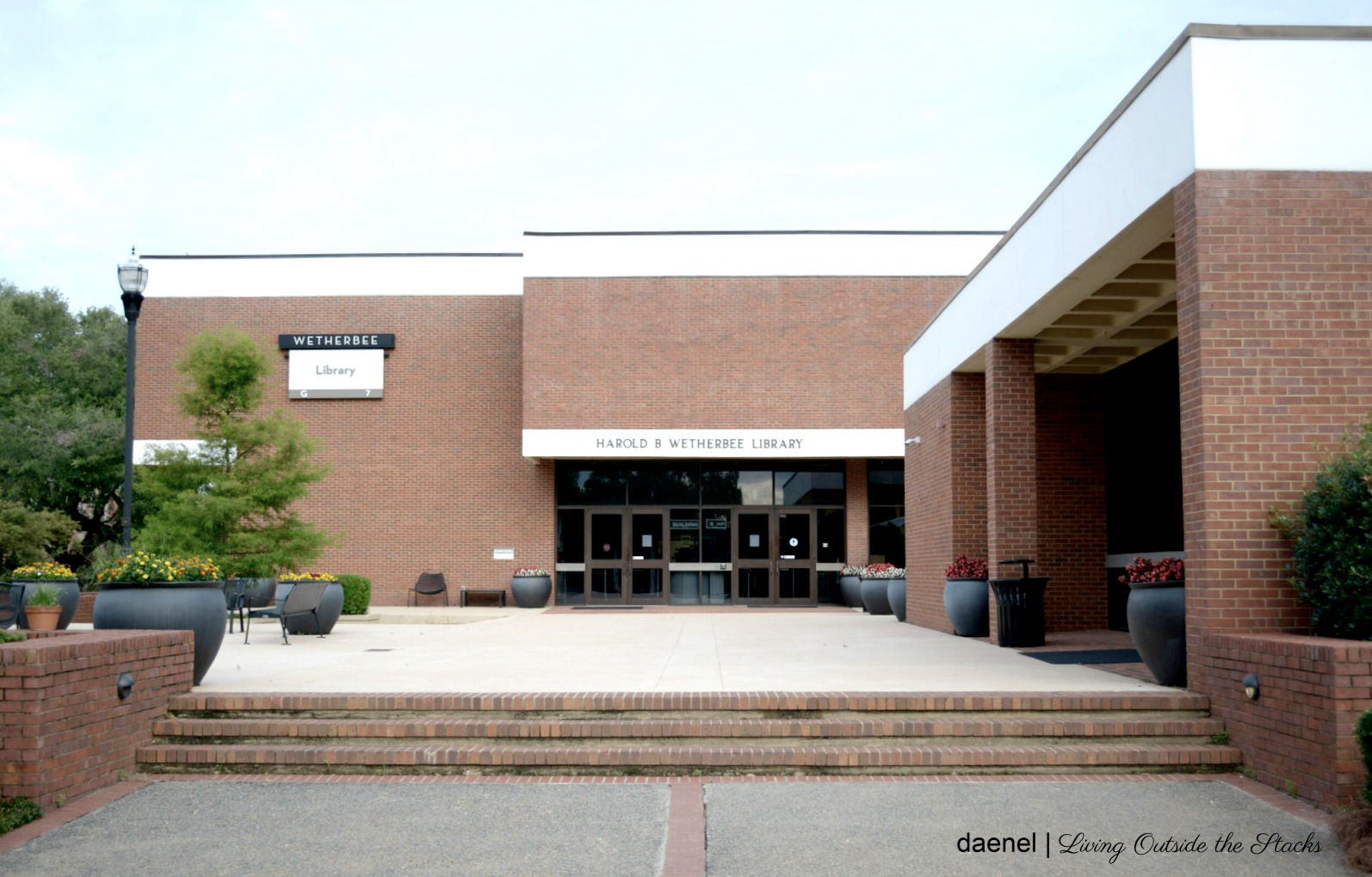 My Last Day at Harold Wetherbee Library {living outside the stacks}