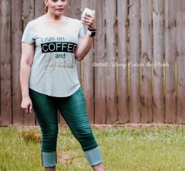 Coffee Tee and Jeans {living outside the stacks}