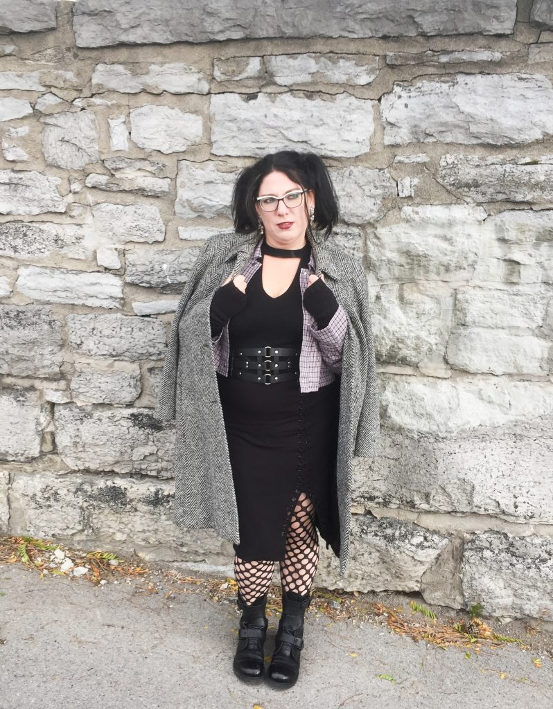 Shelbee {Shelbee on the Edge} Fab Forties - Goth Vibes