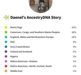 AncestryDNA - Daenel Vaughn-Tucker