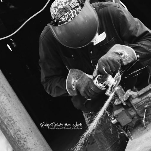 Welding {living outside the stacks}