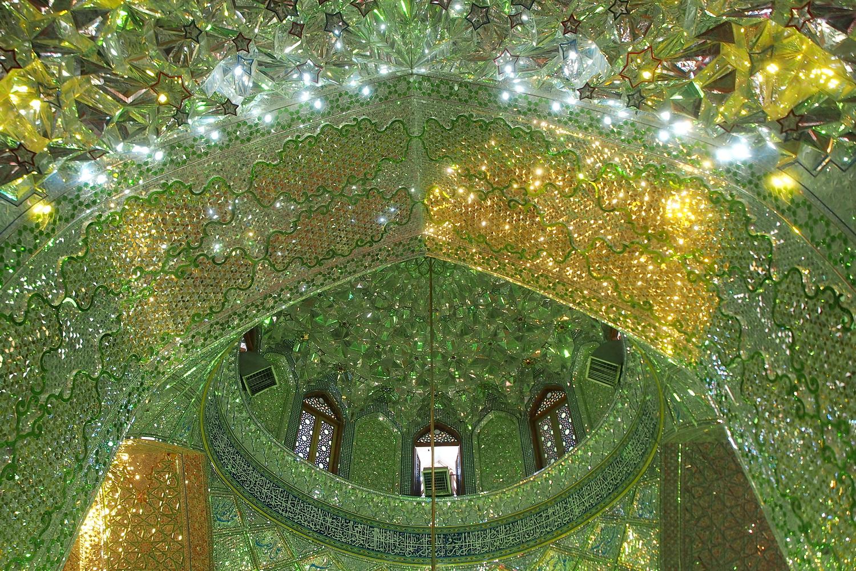 Ali Ibn Hamzeh Shrine in Shiraz Iran by Salazar #StyleImitatingArt