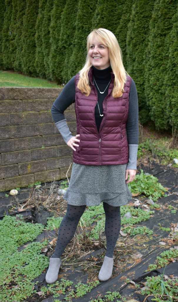 Lana {My New Happy} #AgelessStyleLinkup Puffer Vest