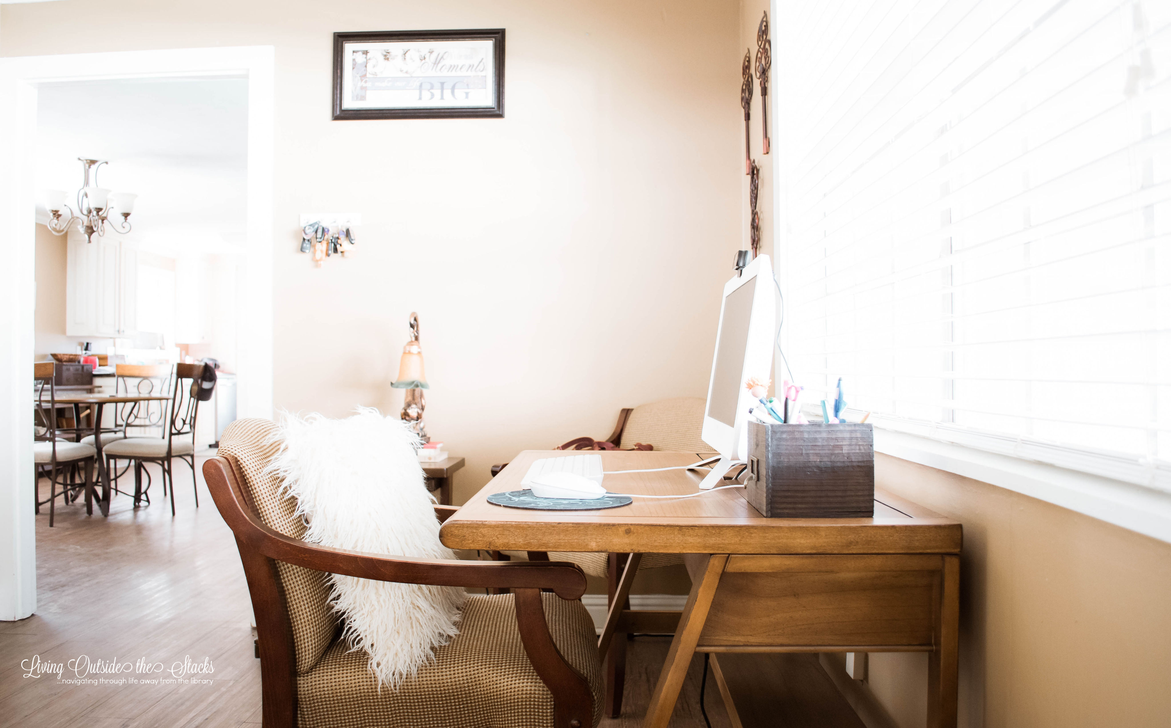 Home Office {living outside the stacks}