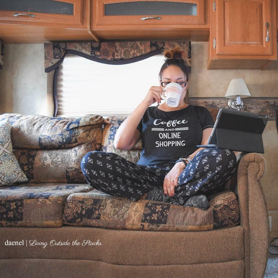 Coffee Tee {living outside the stacks}