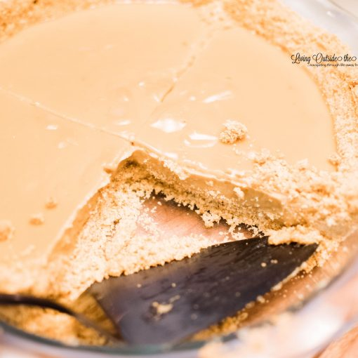 Butterscotch Pie with Curry Crust {living outside the stacks} #coffeeandpiechat