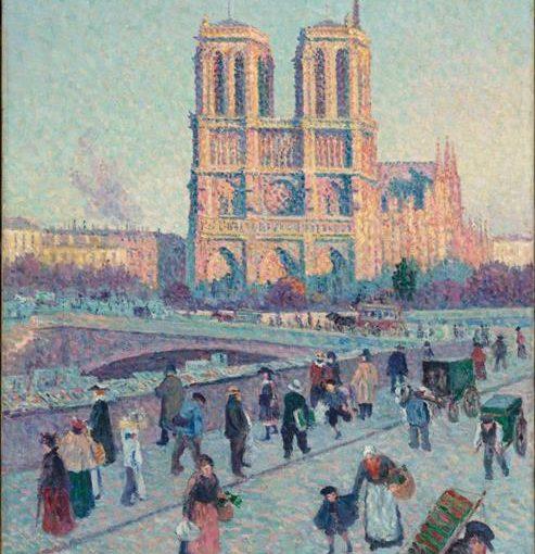 Le Quai Saint Michel Et Notre Dame by Maximilien Luce