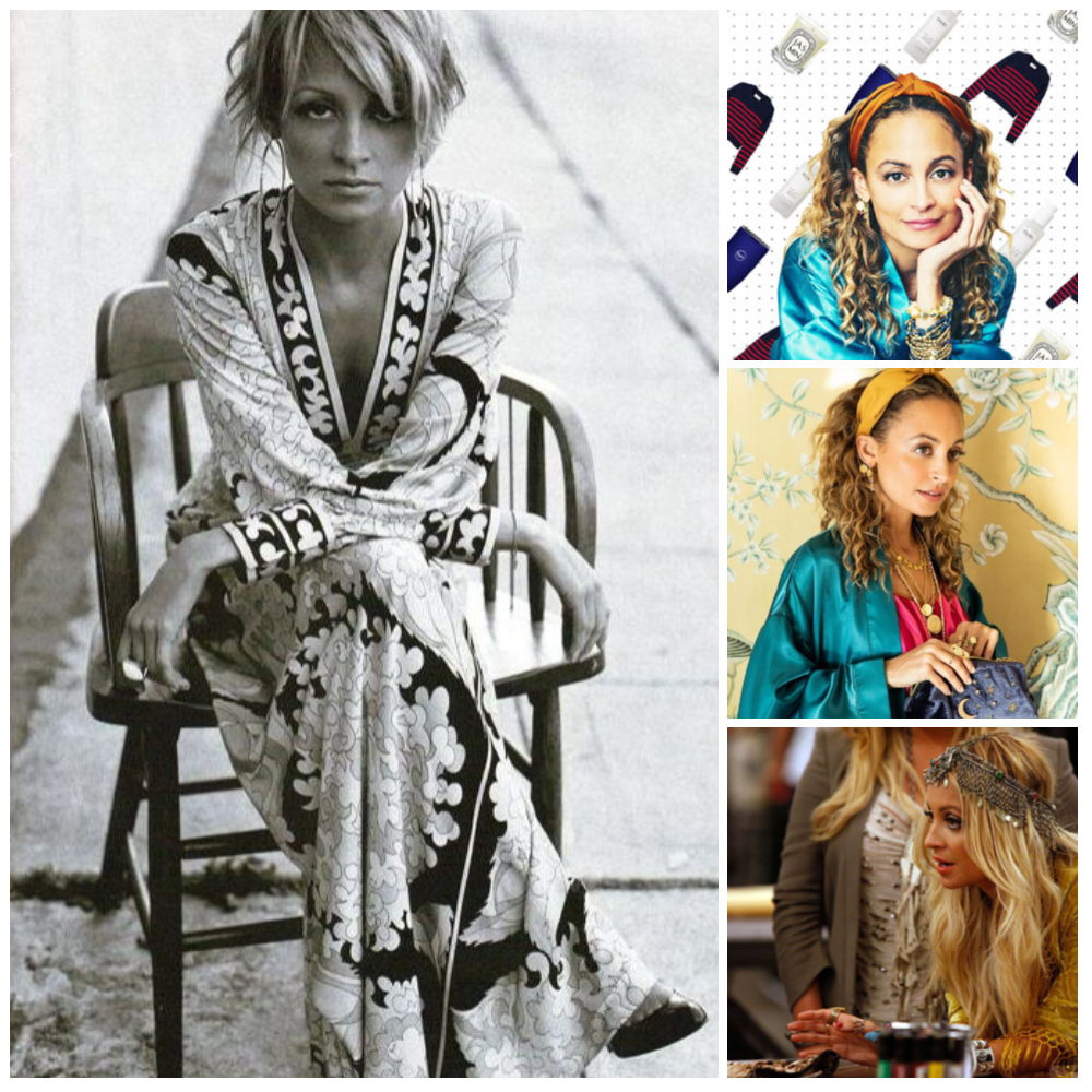 Daenel T {living outside the stacks} Nicole Richie Collage