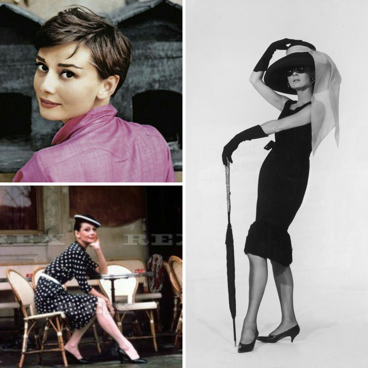 Jennie {a pocketful of polka dots} Audrey Hepburn