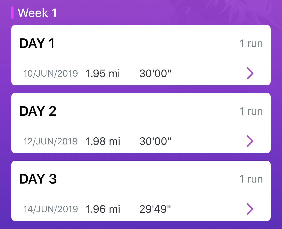 C25K Week 1 {living outside the stacks}