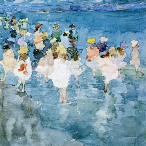 Maurice Predergast_Children at the Beach