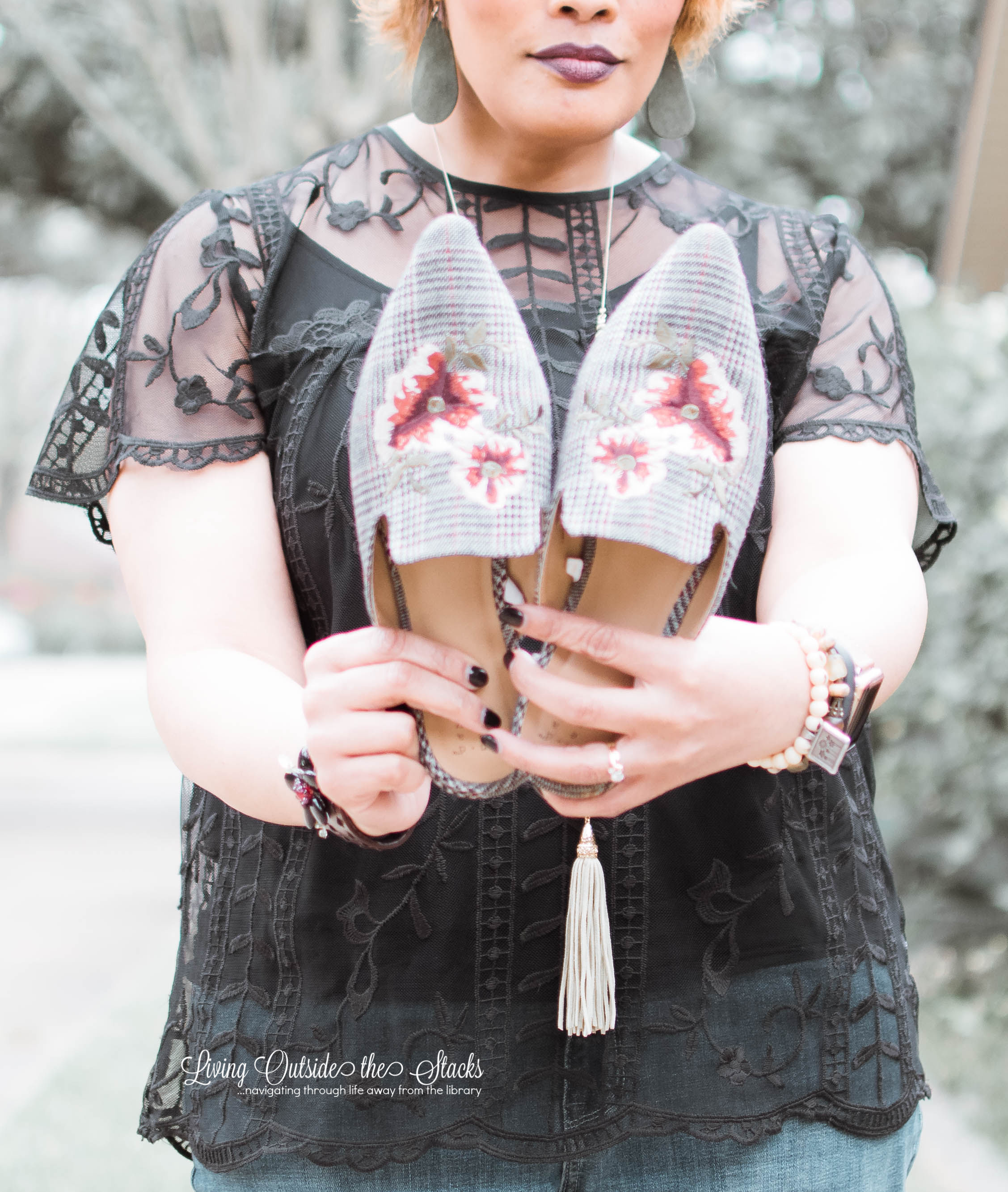 Florals and Plaids {living outside the stacks}