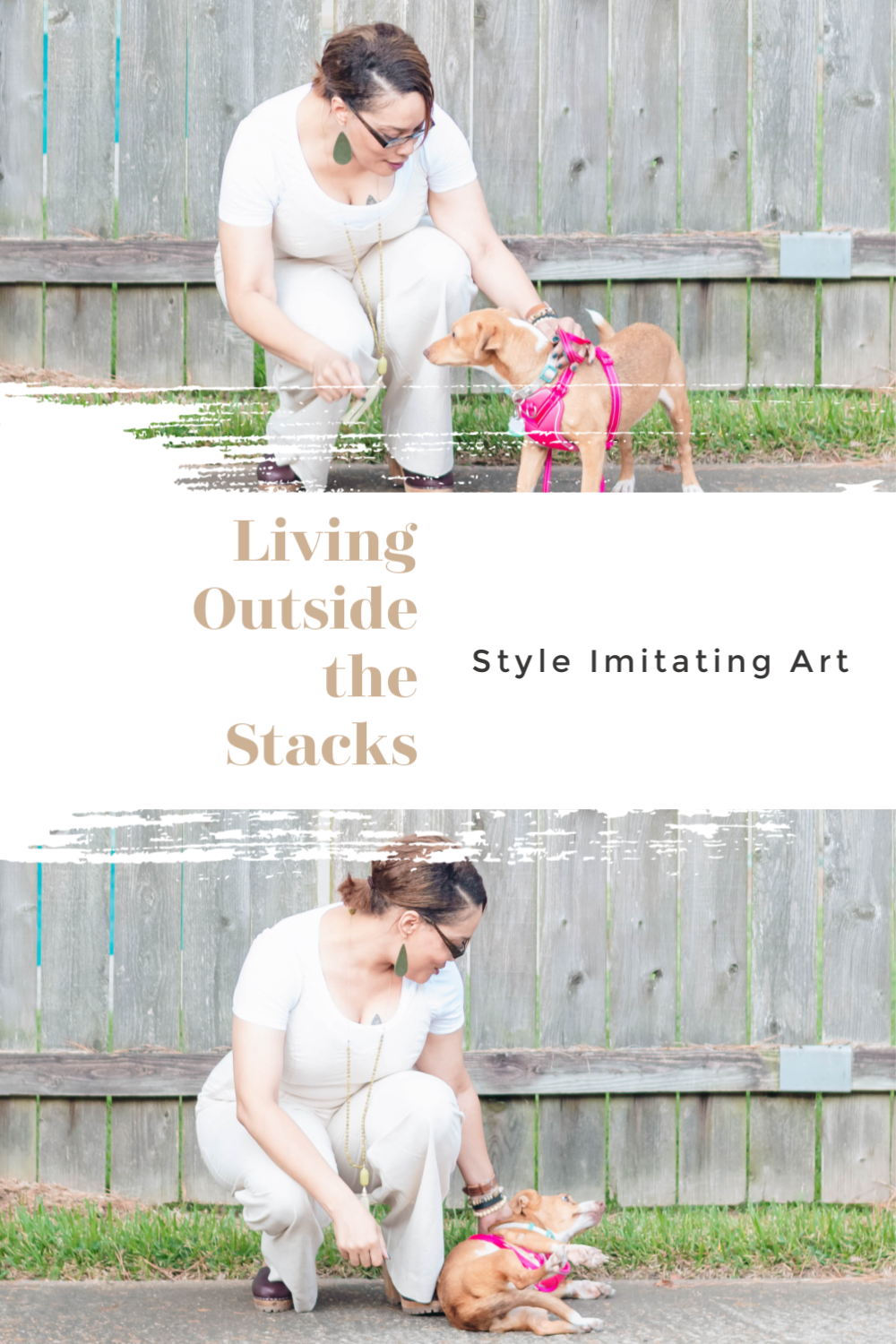 Daenel T {living outside the stacks} Style Imitating Art