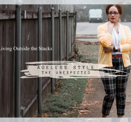 {Living Outside the Stacks} #AgelessStyle