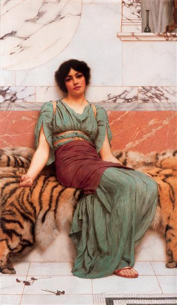 Sweet Dreams by John William Godward {wikiart}