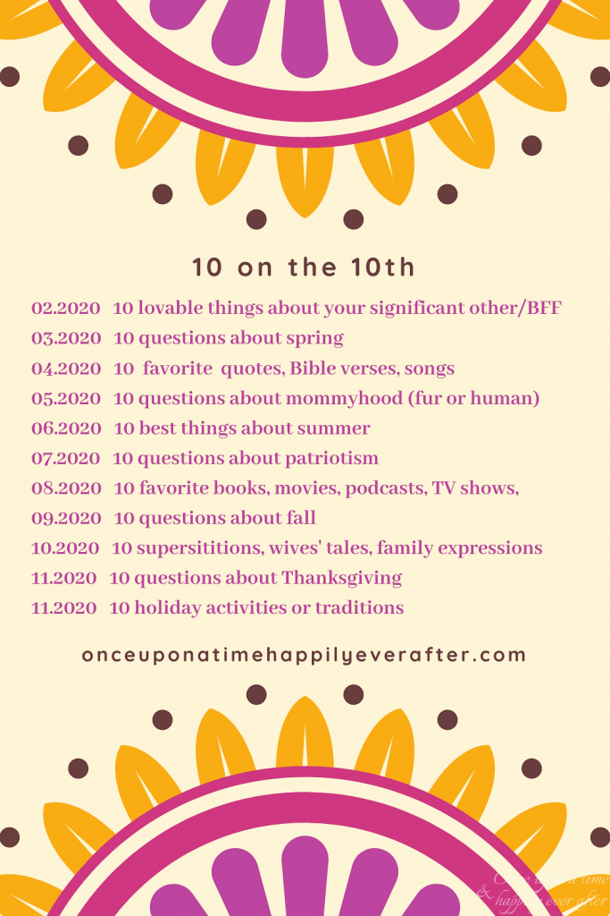 10 on the 10th prompts