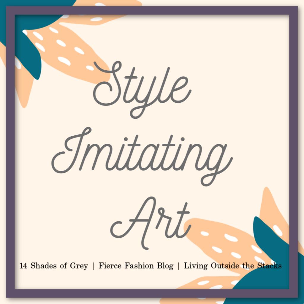 Style Imitating Art Instagram @DaenelT #StyleImitatingArt