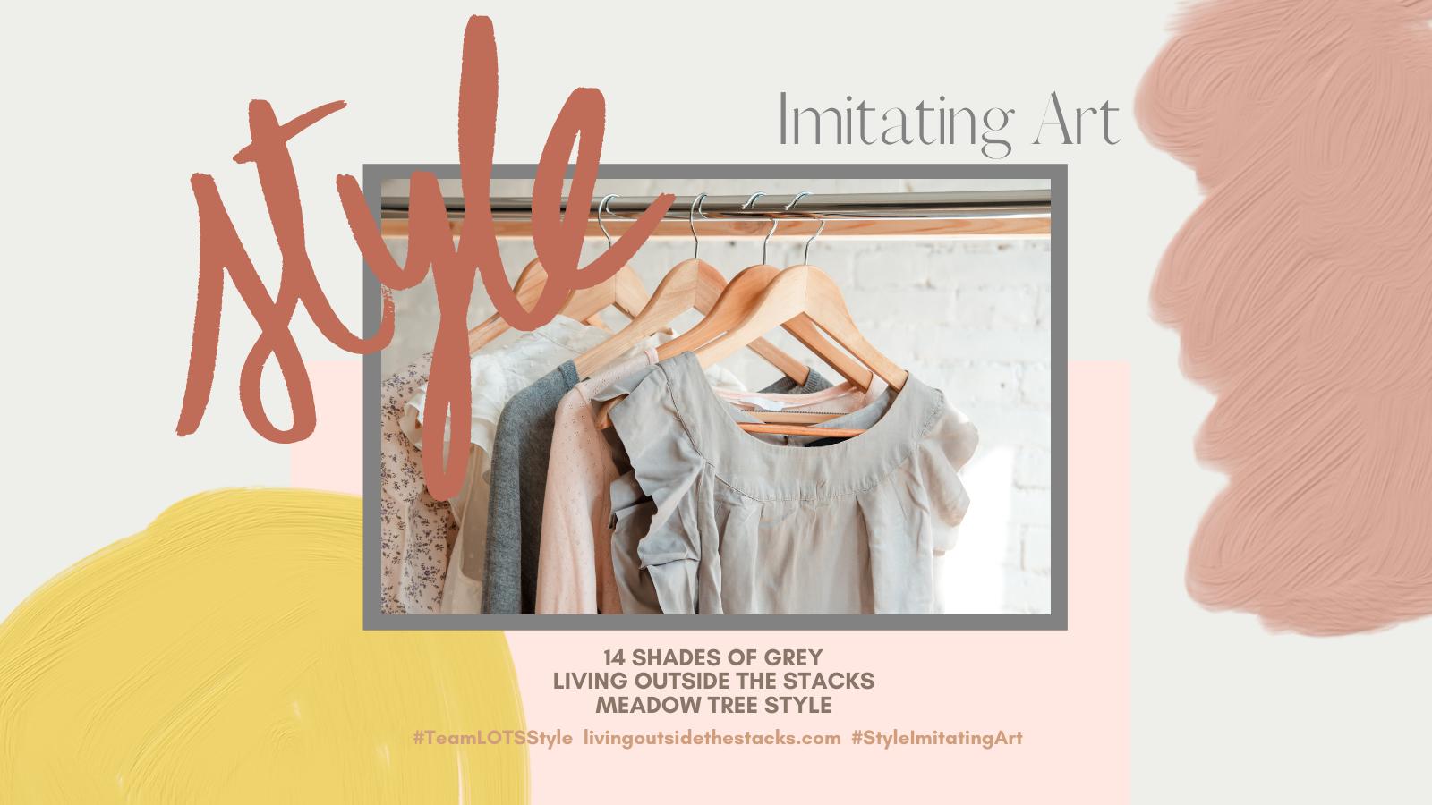 Style Imitating Art {living outside the stacks} follow me on Instagram @DaenelT #TeamLOTSStyle and #StyleImitatingArt
