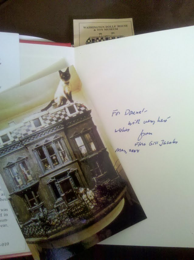 The Doll House Mystery by Flora Gill Jacobs inscription