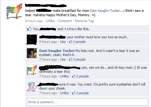 Mother's Day Facebook Status
