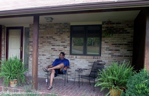 Hubs on the Front Porch