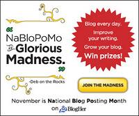 National Blog Posting Month