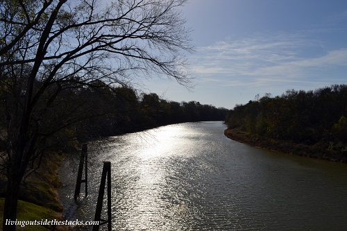 View of the Water from the Robinson Road Bridge
