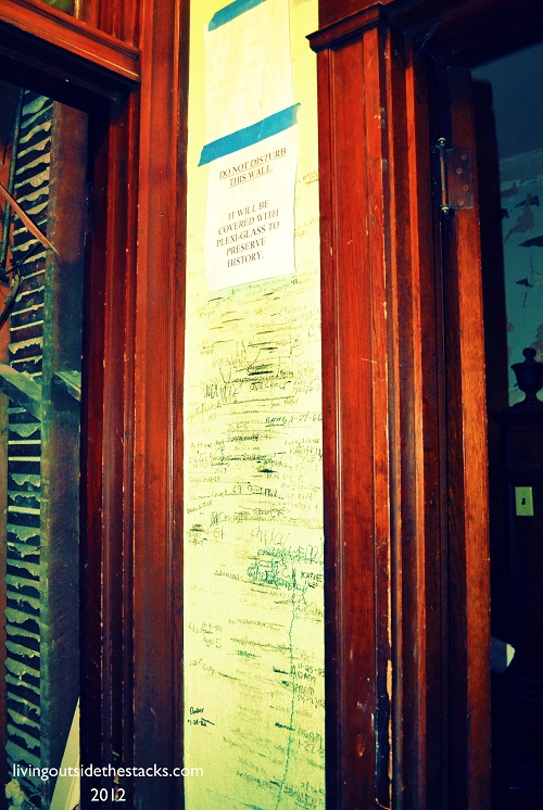 Family Growth Chart {Oliver House}