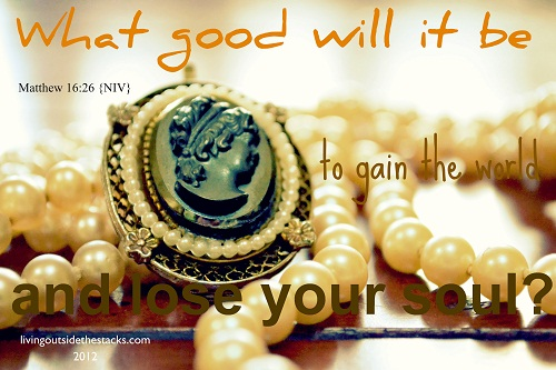 Matthew 16:26 {Word Filled Wednesday}